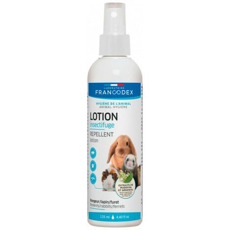 """main image of """"Lotion insectifuge. pour rongeur ,lapin, furet. 125 ml."""""""