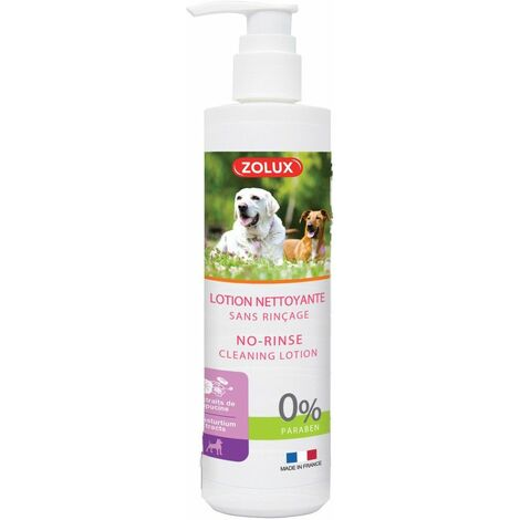 Lotion ss rincage chien 250ml