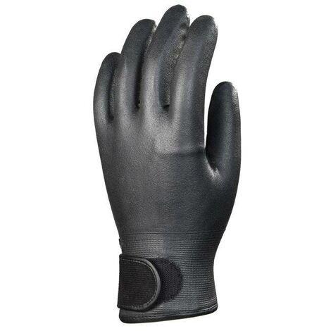 Lots de 10 paires de gants EUROFLEECE nitrile mousse fourré Coverguard