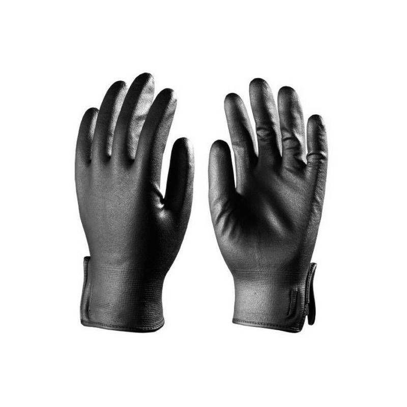 Lots de 10 paires de gants EUROTRIL+ enduit nitrile mousse, support nylon noir - T. 10 - Coverguard