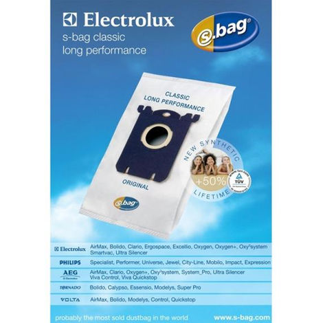 lots de 4 sacs s-bag long performance - e201b - menalux