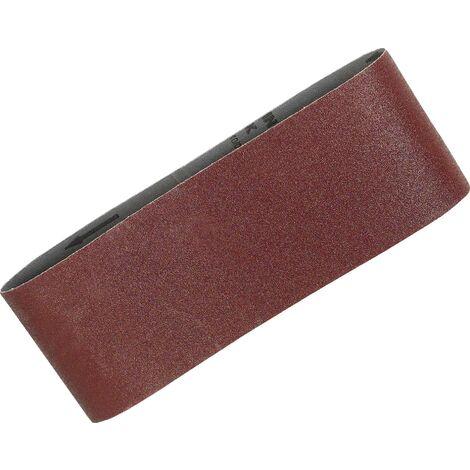 Lots de 5 Bandes abrasives 100x610 mm pour bois métal pour Ponceuse à bande MAKITA 9401, 9403, 9404