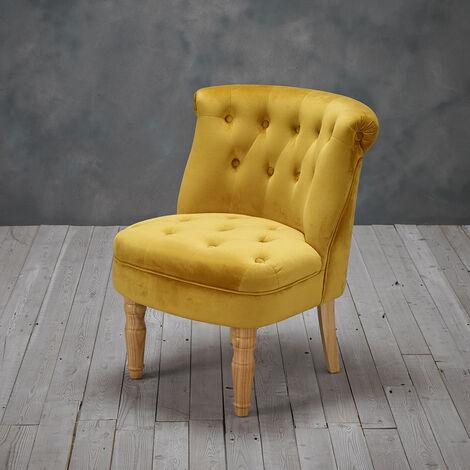 Lottie Chair Mustard