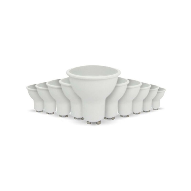 Arum Lighting - Lotto di 10 lampadine a LED GU10 5W eq 40W   Température de Couleur: Bianco neutro 4000K