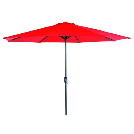 Lotus Parasol 300cm Round Red