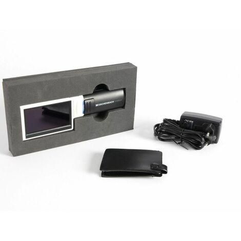 Loupe électronique portable Mobilux malvoyant - Blanc / Noir
