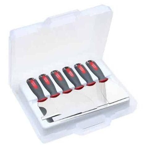 L'OUTIL PARFAIT - Valise 6 couteaux plaquiste Alu-choc' - 80117