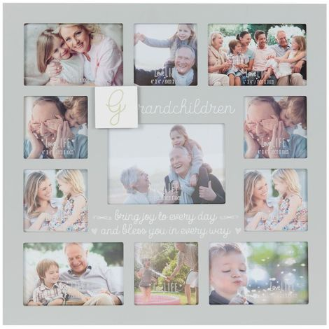 Love Life Multi Aperture Photo Frame - Grandchildren