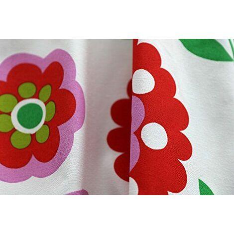 Love Rioma RIDEAU A PATTES 140 x 270 cm-Blanc