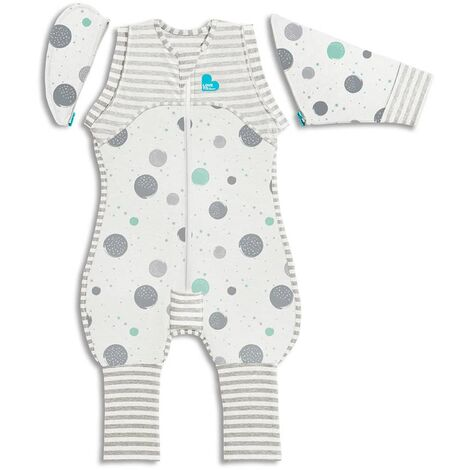 Love to Dream Baby Swaddle Swaddle Up Transition Suit Lite Stage 2 M White