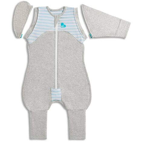 Love to Dream Baby Swaddle Swaddle Up Transition Suit Stage 2 L Blue