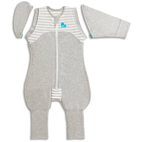 Love to Dream Baby Swaddle Swaddle Up Transition Suit Stage 2 M Grey