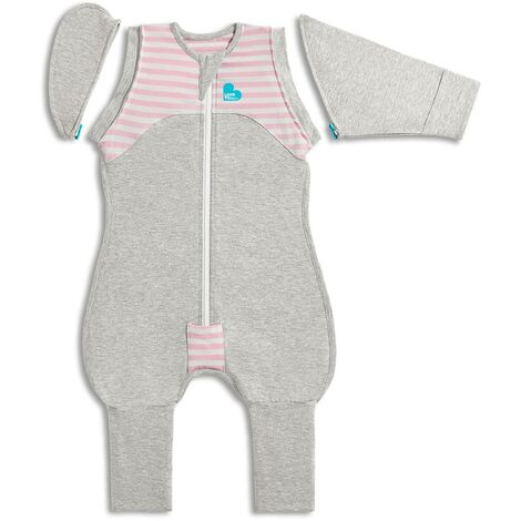 Love to Dream Baby Swaddle Swaddle Up Transition Suit Stage 2 M Pink