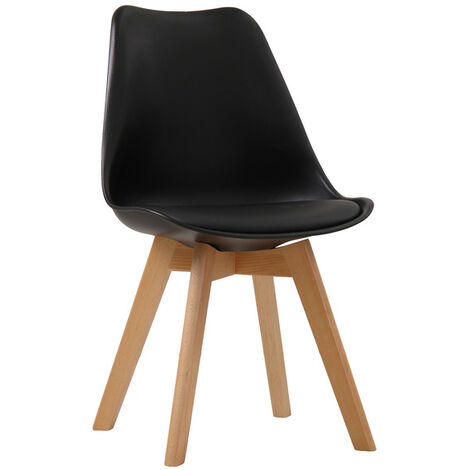 Lovet Chair Black (Pack of 2)