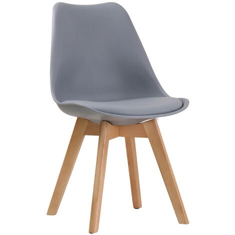 Lovet Chair Grey (Pack of 2)