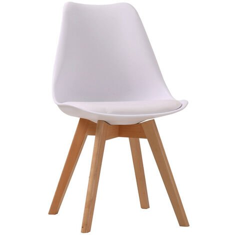 Lovet Chair White (Pack of 2)