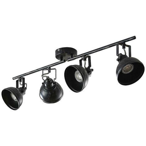 Lovro ceiling spotlight with four bulbs