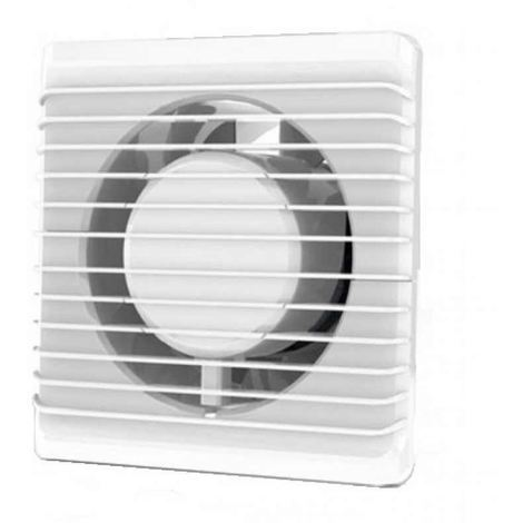 Low Energy Silent Bathroom Extractor Fan 100,125mm Timer Pull Cord Humidistat[125mm,with Timer]