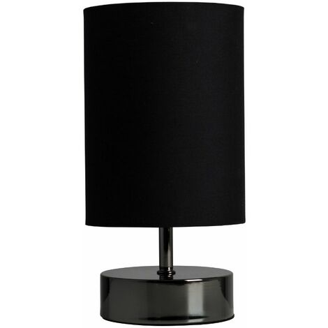 Low, Medium, Bright and OffPlease Note: This Lamp Requires Dimmable Bulbs. Not Suitable for Standard LED or Energy Saving Bulbs.Product SpecificationMaterial: MetalFinish: Black ChromeCap Type: E14Wattage: 40WColour Temperature: N/ALumens: 0Lifespan: 0Dim