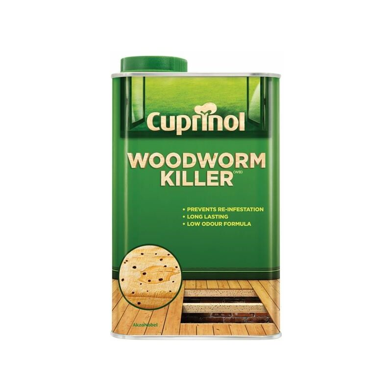 Image of Low Odour Woodworm Killer 1 Litre ( WW1L) - CUP