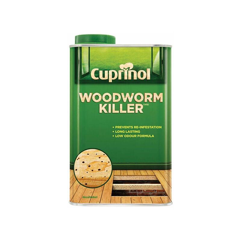 Image of 5218659 Low Odour Woodworm Killer 500ml - Cuprinol
