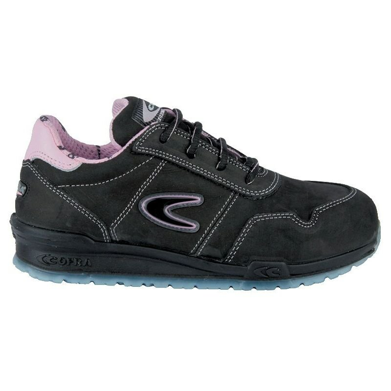 Image of Cofra Alice S3 SRC Women's Black Safety Trainers - Size 3