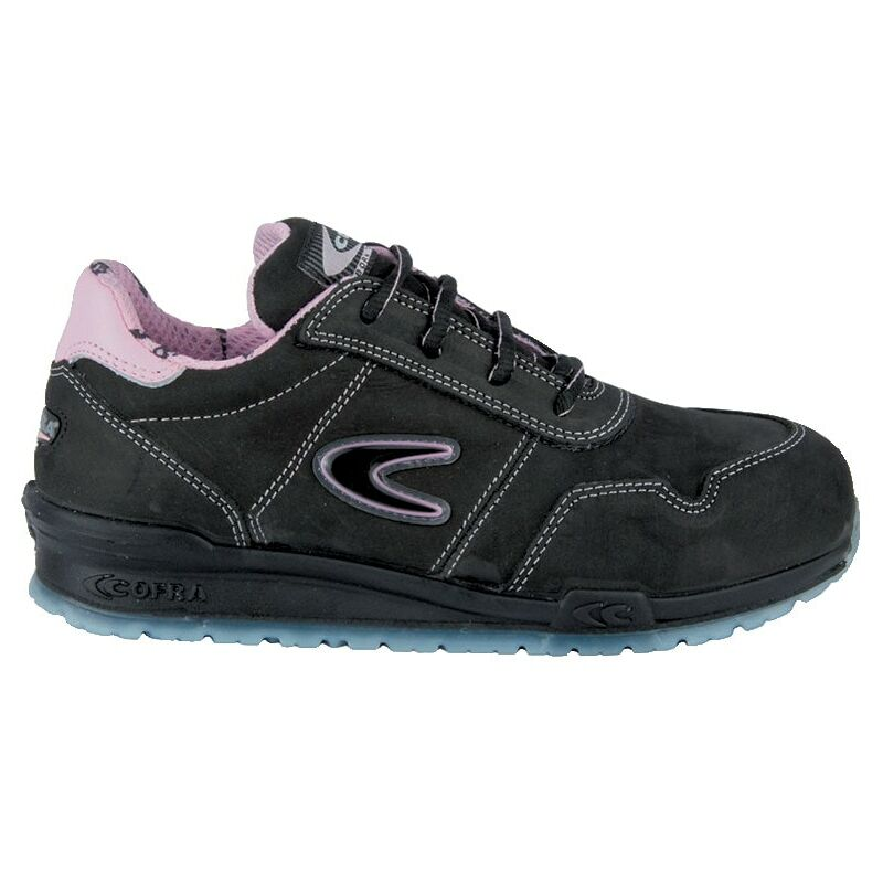 Image of Cofra Alice S3 SRC Women's Black Safety Trainers - Size 6