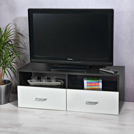 Eiche Massiv TV Schrank Lowboard Fernsehschrank Fernsehtisch Sideboard