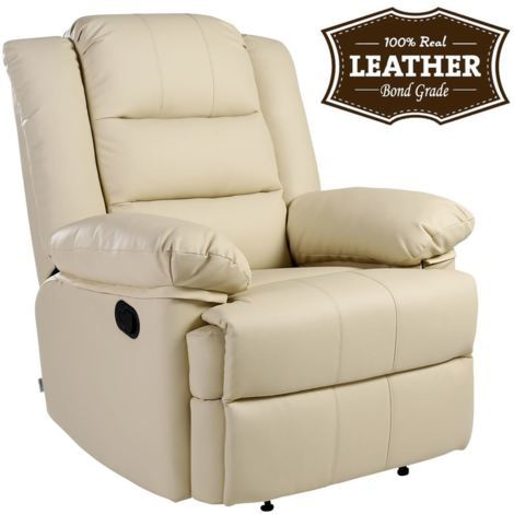 Loxley Leather Recliner Chair - different colors available