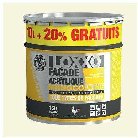 LOXXO Peinture Façade Acrylique 12L Meulière - 12 L