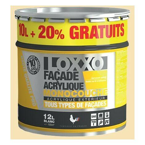 LOXXO Peinture Façade Acrylique 12L Ton Pierre - 12 L