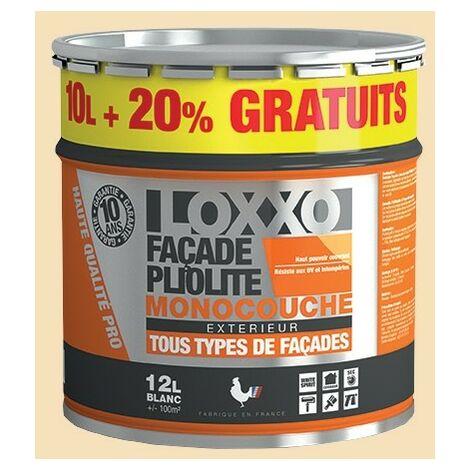 LOXXO Peinture Façade Pliolite 12L Ton pierre - 12 L