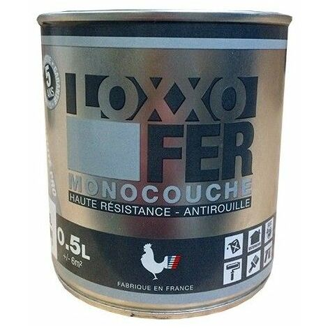 LOXXO Peinture Fer Antirouille Blanc - 2,5 L