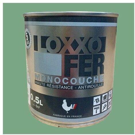 LOXXO Peinture Fer Antirouille Vert pâle - 0,5 L