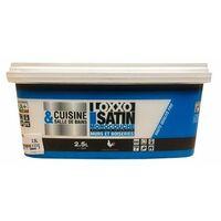 LOXXO Peinture Satin Cuisine et salle de bains Blanc - 2,5 L