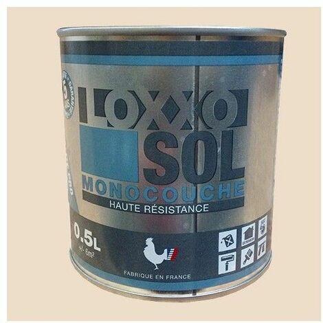 LOXXO Peinture Sol Haute Résistance Blanc perlé 0,5 L - Blanc perlé