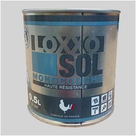 LOXXO Peinture Sol Haute Résistance Telegris 4 - 0,5 L