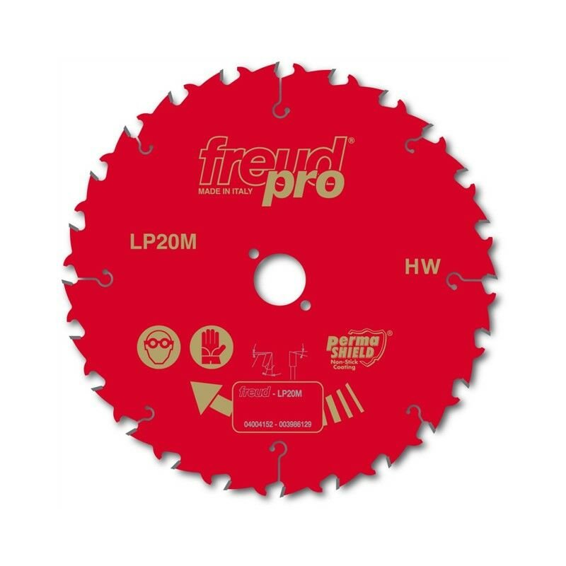 Image of Freud Pro LP20M023 TCT Circular Rip Saw Blade 235mm x 30 x 24 Tooth LP20M 023