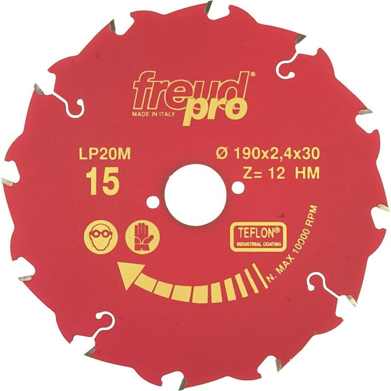 Image of Freud Pro LP20M 025 250X2.8X30MM Pro Coarse Ripping Saw Blade Yellow Line - Coar