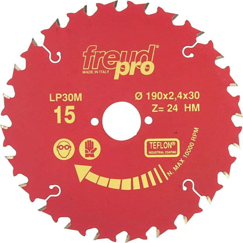 Image of Freud Pro LP30M 015 - 190X2.4X30MM General Purpose Saw Blade - Red Line