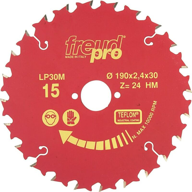 Image of Freud Pro LP30M 025 - 250X2.8X16MM General Purpose Saw Blade - Red Line