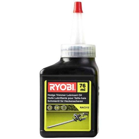 Lubricating oil for hedge trimmers 76 ml RAC312