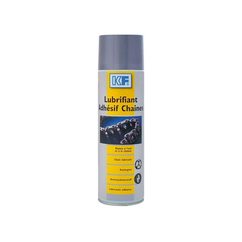 KF - Lubrifiant adhésif chaine, aérosol de 500 ml net