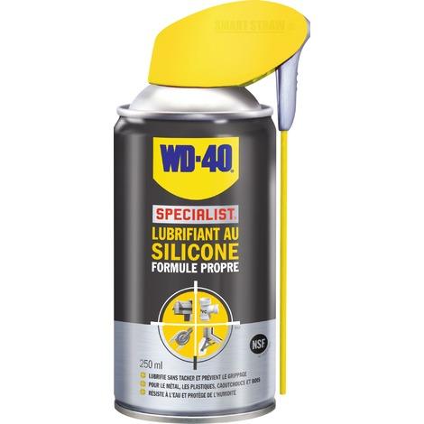 Lubrifiant au silicone formule propre WD-40 - Aérosol 250 ml