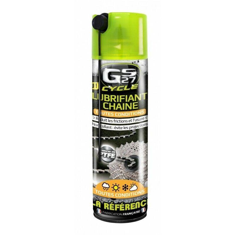 Lubrifiant chaine toutes conditions 250ml - Gs27
