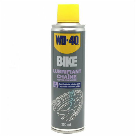 Lubrifiant chaîne vélo 250ml WD40