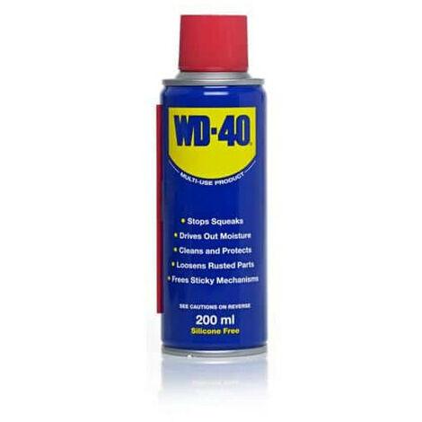 Lubrifiant dégrippant WD40 spray 200ml