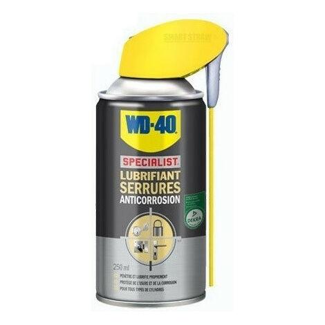 Lubrifiant serrures 250 ml système professionnel WD40 - 33303