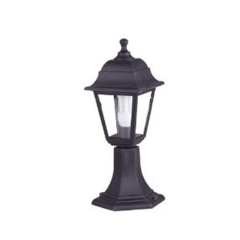 210528f Globo Lampada Da Terra Da Esterno Led Nero