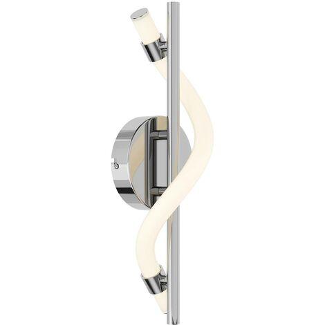 Lucande Curla aplique LED en cromo